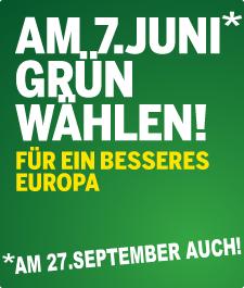 Grün wählen!