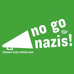 no go für nazis!